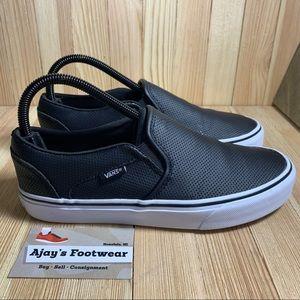 Vans Black Slip on Women's Skate Classic Shoes